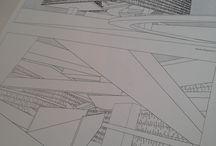 építészeti grafikák