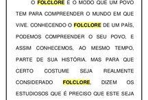 FOLCLORE ESCOLA