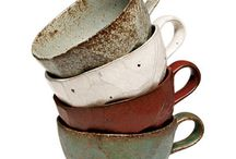 ceramic pottery mug sets