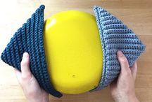 Hækle, strikke