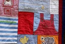 quilt -old baby clothes