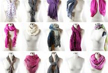 Fashion / Scarf tying / by Christie Clerc