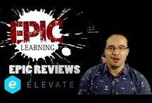 Epic Reviews / The latest and greatest when it comes to learning & tech.