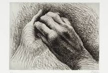 Hands / The representation of hands, a hand - the gesture of a hand, it's contours, the underlying anatomy - through whatever artistic medium, is surely a noble feat.