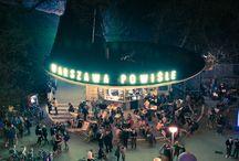 Cool places to drink and eat in Warsaw / Mega miejsca w Warszawie do jedzenia i picia
