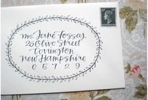 Calligraphy and Lettering / by Steph38