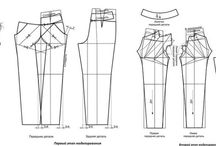 sewing trousers,pants and shorts / by Sylwia Herman