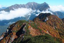霞沢岳(北アルプス)登山 / 霞沢岳の絶景ポイント 北アルプス登山ルートガイド。Japan Alps mountain climbing route guide