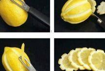 διακόσμηση με λεμονια