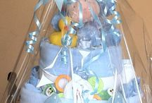 Nappy cakes and baby gifts