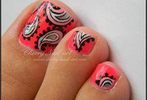 Hippy nails <3