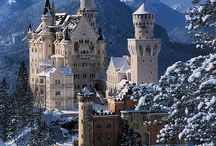 Castles / beautiful castles in history / by Kathryn Smith