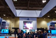 Sony Playstation - Toronto, Montreal and Calgary / Twelve LED Panels and 24 LCD television setup for gamers to enjoy themselves on the latest playstations with unreleased games. Booth looked awesome.