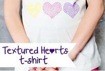 Painted shirts