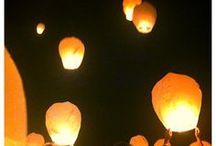 Lanterns for wedding / My wedding