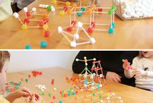 Constructing in kindergarden
