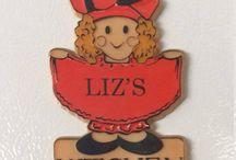 Fantastic Vintage Magnets!