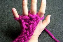 tejido dedos