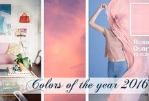 Colors of the Year 2016