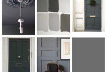 Front door / Grey front door
