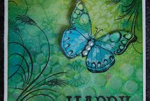 Handmade cards / by Carolyn: Cool Change Creations