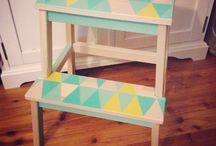 Relooking mobilier / DIY et autres customisations de petits meubles