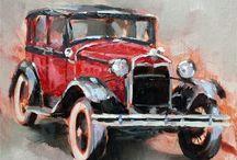 Akvarel biler