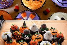 heloween cupcakes maken