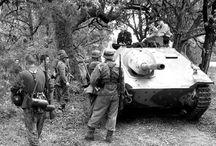 """WW2 - HETZER / Jagdpanzer 38(t) (Sd.Kfz 138/2) Hetzer (z niem. """"Podżegacz"""") – niemieckie działo pancerne z okresu IIWŚ budowane na podwoziu czołgu PzKpfw 38(t)."""