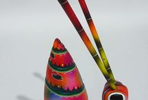 Alebrije Wood mexican Carving Hasty Snail