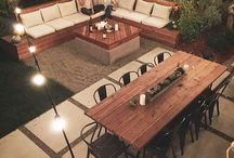 Backyard spaces