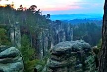 Bohemian Paradise ♥ / My home. UNESCO European Geopark and Protected Landscape Area Bohemian Paradise.