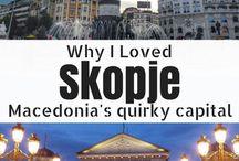 Makedonie-Skopje