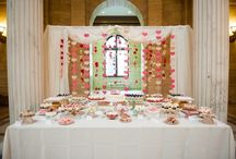 Dessert Displays / Beautiful displays of sweets for your guests