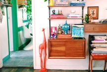 COLOURFUL VINTAGE HOME
