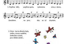 Písničky dětské