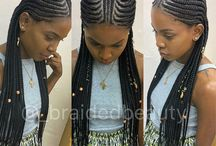 Braids and cornrows