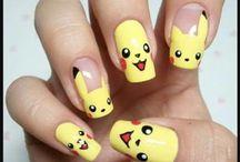Nail art pikathou
