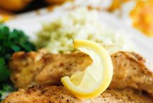 Slow cooker chicken lemon / Italian lemon pepper