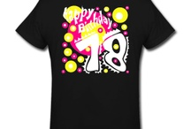 Happy Birthday Fashion 18 Years for women / The perfect gift for the Birthday Party. Women's 18 years print design. More Art-Designs at www.pranaboy.com / by PranaBoy Fashion
