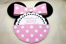Minnie party pink