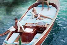 Classic vintage boats