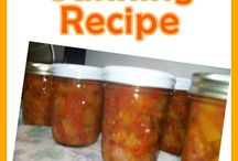 Canning/ preserves