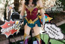 Super Hero Wonder Woman Centerpiece