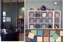 Showroom 105 rue de Saussure 75017 Paris / Showroom carreaux de ciment sur-mesure