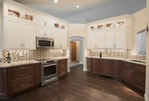Arvada West 66th Place / A kitchen remodel to accent the height of the space with a strong work triangle. Designers: Jared Caruso and Mark Fergenbaum