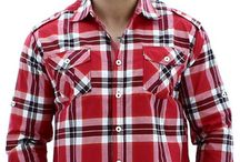 Mens Button Down Shirts / This board contains may styles of men's woven button downs. / by Street Moda