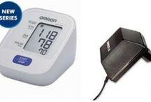 Omron Digital Fully Automatic (Hem-7120) Blood Pressure Monitor With Adaptor