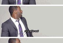 Idris Elba & Lance Gross