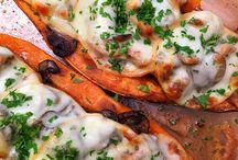 édes burgonya receptek